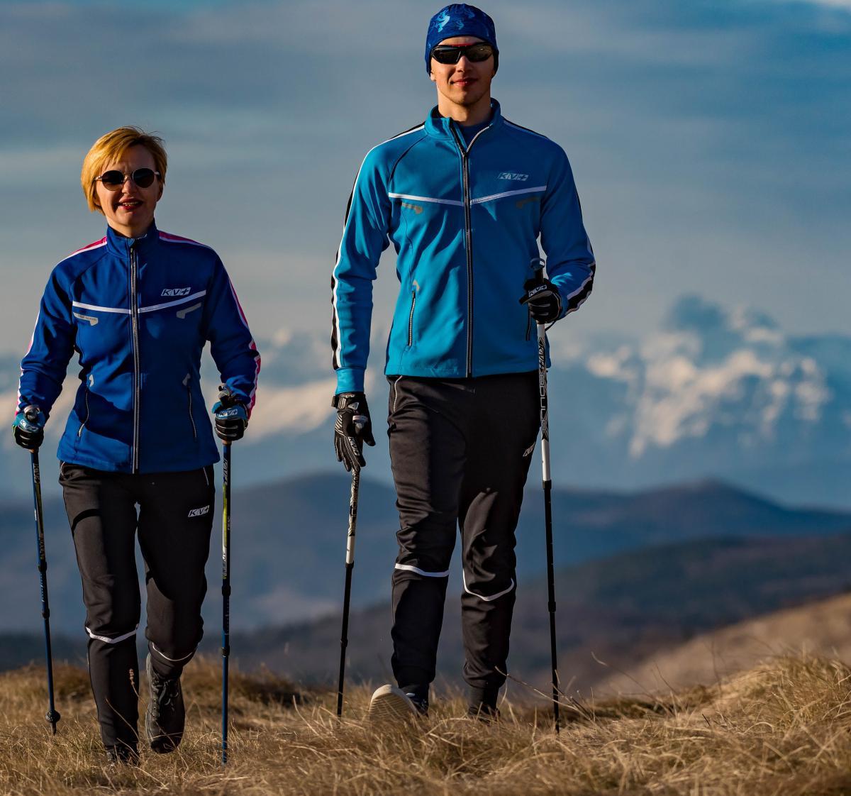 Оздоровительная ходьба с палками для пожилых людей