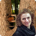 Елена Аксиневич. Скандинавская ходьба в Измайловском парке.