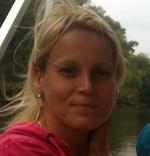 Евгения Пухтий, инструктор по скандинавской ходьбе в Измайловском парке