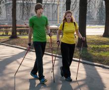 Индивидуальные тренировки по скандинавской ходьбе