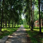 Клуб школы скандинавской ходьбы в пансионате «Воробьи» Калужской области